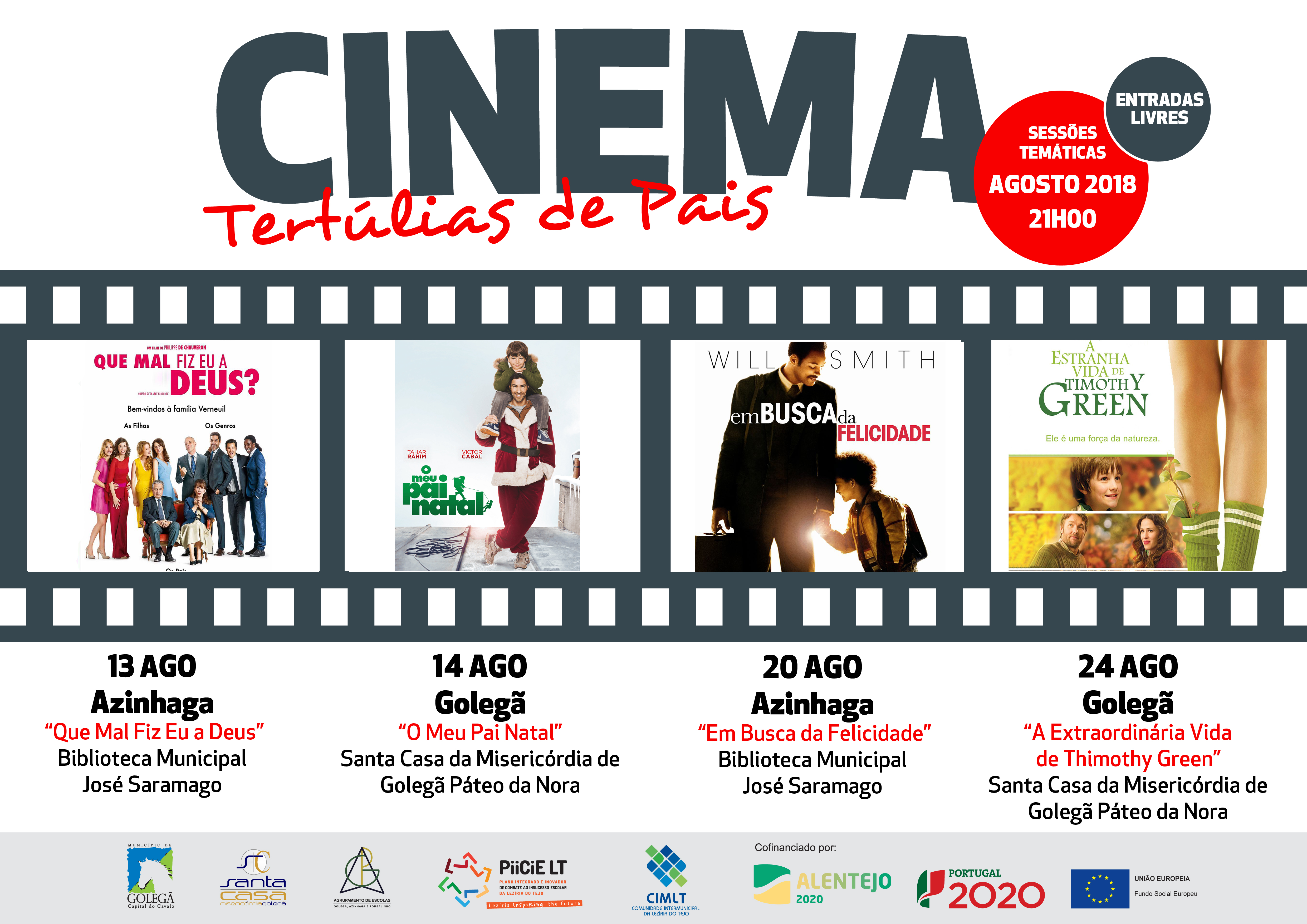 Cinema - Tertúlias de pais